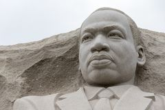 Martin Luther King Memorial In Washington DC Stock Photography