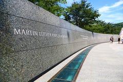 Martin Luther King Memorial in Washington Royalty Free Stock Photos