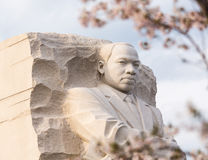 Martin Luther King Monument Washington DC stock photography