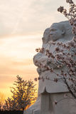 Martin Luther King Monument Washington DC stock image
