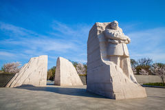 Martin Luther King Monument Royalty Free Stock Photo