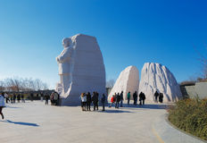 Martin Luther King, monumento del Jr. en el Washington DC, los E.E.U.U. imagen de archivo