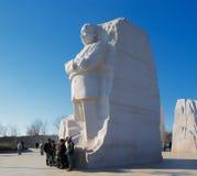 Martin Luther King, monumento del Jr. en el Washington DC, los E.E.U.U. foto de archivo