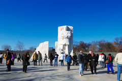 Martin Luther King, monumento del Jr. en el Washington DC, los E.E.U.U. fotos de archivo