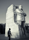 Martin Luther King, monumento del Jr Monumento nacional, Washington D C Fotografía de archivo