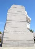 Martin Luther King, monumento del Jr monumento, Washington D C Imagen de archivo libre de regalías