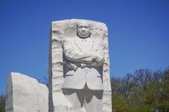 Martin Luther King pomnik w washington dc KOLUMBIA, KWIECIEŃ - 7, 2017 - washington dc - Fotografia Stock