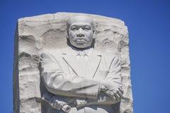 Martin Luther King pomnik w washington dc KOLUMBIA, KWIECIEŃ - 7, 2017 - washington dc - Zdjęcia Stock