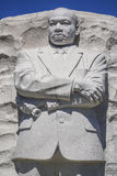 Martin Luther King pomnik w washington dc KOLUMBIA, KWIECIEŃ - 7, 2017 - washington dc - Obraz Royalty Free