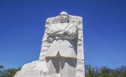 Martin Luther King pomnik w washington dc KOLUMBIA, KWIECIEŃ - 7, 2017 - washington dc - Zdjęcie Stock
