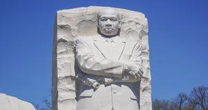 7, 2017 - Martin Luther King pomnik - washington dc zwiedza washington dc KOLUMBIA, KWIECIEŃ - Obraz Stock