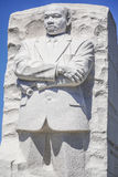 7, 2017 - Martin Luther King pomnik - washington dc zwiedza washington dc KOLUMBIA, KWIECIEŃ - Zdjęcia Royalty Free