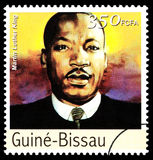 Martin Luther King Postage Stamp Royalty-vrije Stock Afbeeldingen