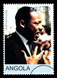 Martin Luther King Postage Stamp Royalty-vrije Stock Foto's