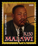 Martin Luther King Postage Stamp imagens de stock royalty free
