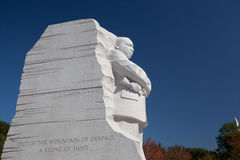 Martin Luther King Statue. In Washington DC stock image