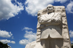 Martin Luther King statue. Martin Luther King statue at his memorial in Washington. America royalty free stock photos