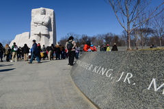 Martin Luther King Statue Royalty Free Stock Photos