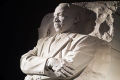 Martin- Luther Kingjr.-Denkmal im Washington DC, stockbilder