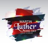 Martin- Luther Kingtag vektor abbildung