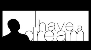 Martin- Luther Kingtag Stockbild