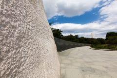 Martin Luther królewiątka pomnik Obrazy Stock