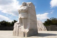 Martin Luther królewiątka pomnik obraz stock