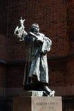 Martin Luther minnesmärke arkivbild