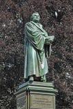 Martin Luther Monument avmaskar in, Tyskland Royaltyfri Fotografi