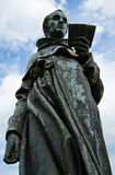 Martin Luther monument. In blue sky background royalty free stock photo