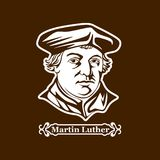 Martin Luther. Protestantism. Leaders of the European Reformation royalty free illustration