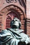 Martin Luther Statue 2 royaltyfria bilder