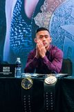 Martin Nguyen. Marina Bay Sands, Singapore on May 14, 2018. Martin Nguyen at the One Championship `Unstoppable Dreams` press conference Stock Photography