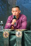 Martin Nguyen. Marina Bay Sands, Singapore on May 14, 2018. Martin Nguyen at the One Championship `Unstoppable Dreams` press conference Royalty Free Stock Image