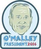 Martin O'Malley President 2016 Stock Afbeelding