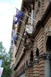 Martin Place, Sydney, Australië royalty-vrije stock foto's