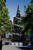 Martin Place Sydney Australia Xmas Stock Photo