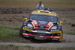 Martin Prokop at ADAC Rally Deutschland 2014 Stock Photo