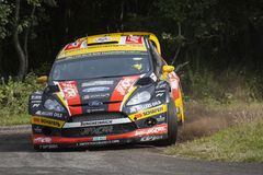 Martin Prokop at ADAC Rally Deutschland 2014 Royalty Free Stock Photography