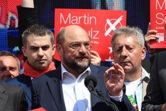 Martin Schulz Στοκ Φωτογραφία
