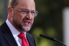 Martin Schulz, Niemiecki polityk zdjęcie royalty free