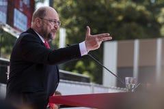 Martin Schulz, político alemán Fotografía de archivo libre de regalías