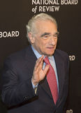 Martin Scorsese Appears at NBR Film Awards Gala Royalty Free Stock Images