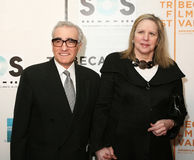 Martin Scorsese and wife Helen Morris Royalty Free Stock Images