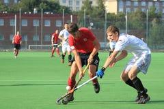 Martin Seeman - field hockey Royalty Free Stock Photo