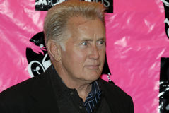 Martin Sheen appearing on the red carpet. Stock Image