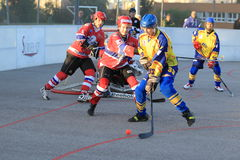 Martin Smid - hockey de boule Photo stock