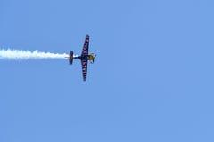 Martin Sonka der Tschechischen Republik führt während Red Bull-Wettfliegen durch Lizenzfreie Stockfotos
