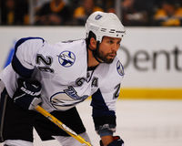 Martin St Louis, Tampa Bay Lightning Photos libres de droits