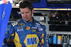Martin Truex Jr. at track Royalty Free Stock Images